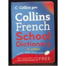Collins French School Dictionary - Used