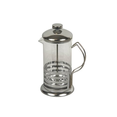 Stainless Steel Glass Coffee Press Plunger Maker