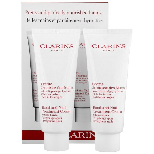 Clarins Hand and Nail Treatment Cream Duo Pack 100ml