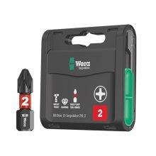 Wera WER057752 Bit-Box 15 Impaktor PH2 x 25mm 15 Piece