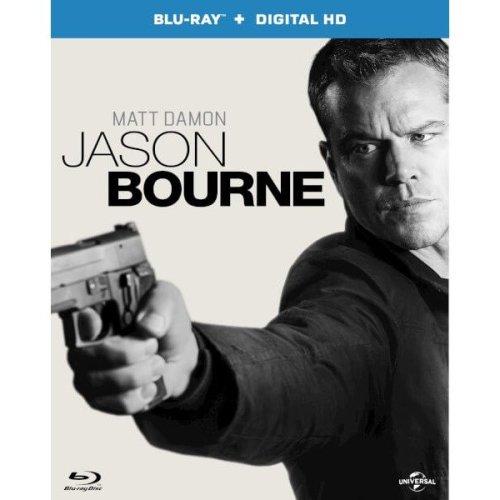 Jason Bourne Blu-Ray [2016]