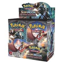 Sun & Moon Burning Shadows Trading Card Game Set