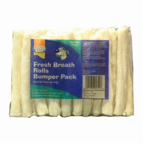 Good Boy Fresh Breath Rolls Dog Treats