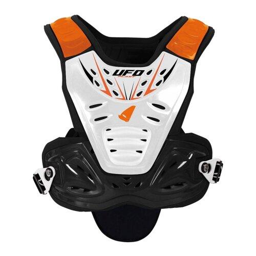 UFO Orange Valkyrie Evo Short MX Chest Protector - Default