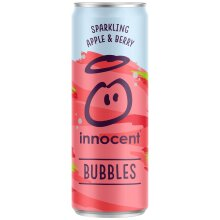 Innocent Bubbles Sparkling Apple and Berry Cans - 12x330ml