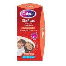 Calpol 6+ Years SixPlus Sugar Free 80ml