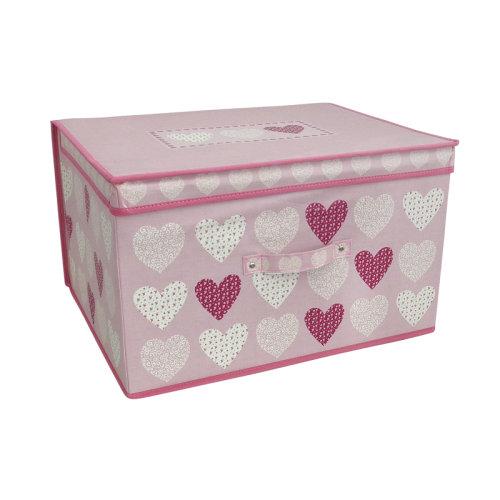 Country Club Jumbo Storage Chest, Blush Hearts