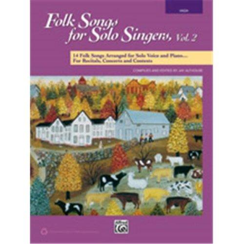 Alfred 00-41549 FOLK SONGS SOLO SNG 2-HI-BK&ACC CD