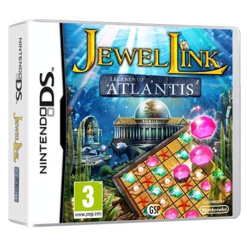 Jewel Link Legends of Atlantis (Nintendo DS)