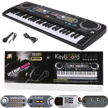 MUSICAL KEYBOARD PIANO 54 KEYS ELECTRONIC ELECTRIC DIGITAL BEGINNER