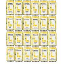 Honest Organic Lemonade Sparkling Lemon 24x 330ml Best Before Aug 2020