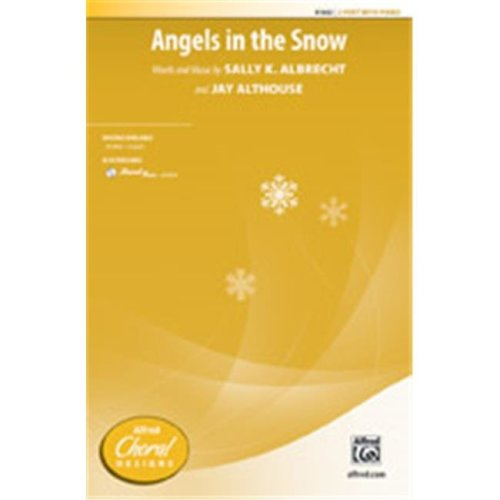 Alfred 00-41663 ANGELS IN THE SNOW-STRX CD