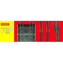 Hornby R8224 00 Gauge Track Extension Pack D