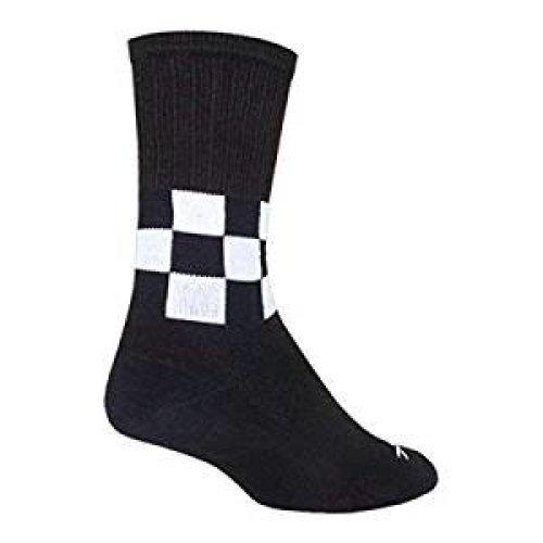 "Socks - Sockguy - SGX 6"" Cuff - Speedway L/XL Cycling/Running"