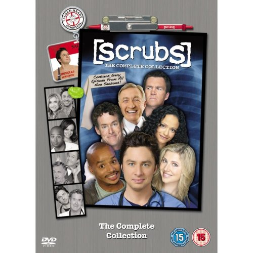 Scrubs Seasons 1 to 9 Complete Collection DVD [2011]