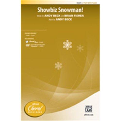 Alfred 00-35688 SHOWBIZ SNOWMAN-STRX CD