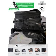 Oxford Magnetic Luggage Tank Bag 40L Sat Nav Black OL205