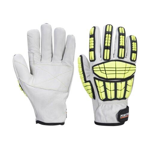 (2XL, Grey) sUw - Supergrip Impact HR Cut Resist Glove One Pair Pack
