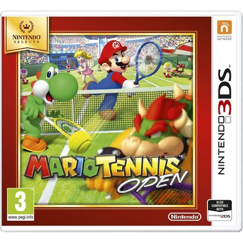 3DS Mario Tennis Selects Edition Nintendo 3DS Game