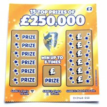Joke Scratchcard | Fake Winning Scratchcard