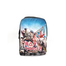 Iron Maiden Backpack Bag Red Trooper Band Logo Eddie new Official Rocksax