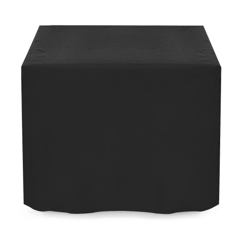 125*125cm Waterproof Garden Patio Furniture Cover for Rattan Table Cube Outdoor