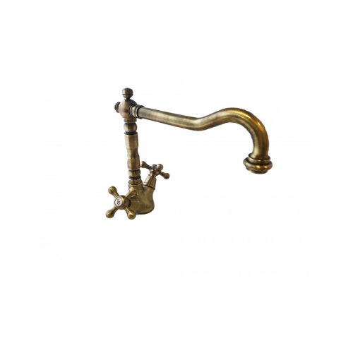 Kitchen sink faucet bronzed vintage style worked