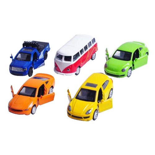Set of 5 Colorful Mini Cars Model Toys Boys Toy Cars