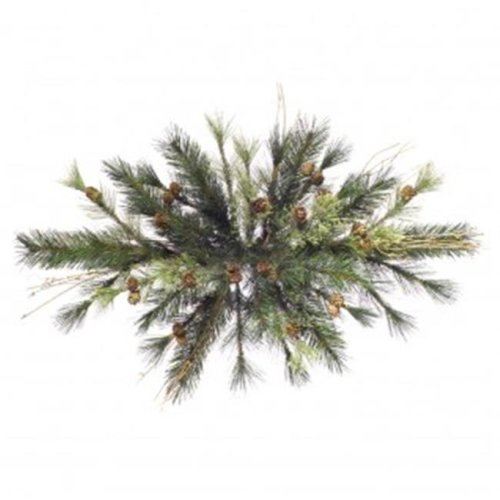 24 in. Mixed Country Pine Swag 38Tips