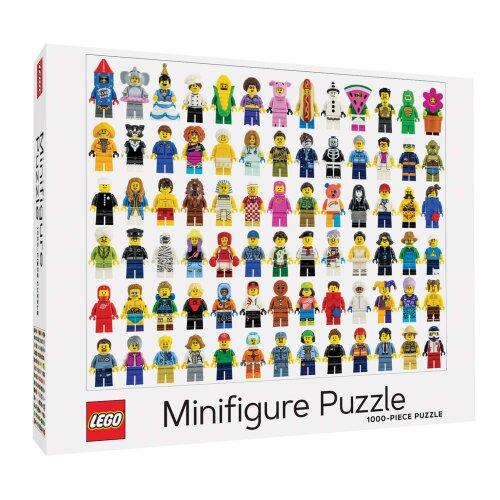 LEGO (R) Minifigure 1000-Piece Puzzle