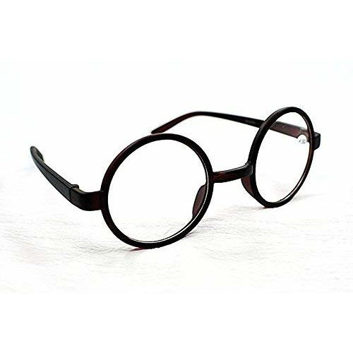 8360 Stylish Classic Retro Round Frame Reading Glasses with 8 Lens Strength Variations & Colours Black, Brown, Clear or Tortoise