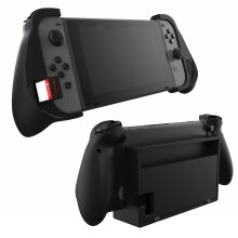 Trigger Grip Case for Nintendo Switch with Game Storage (Dockable)