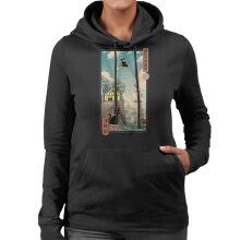 Ukiyo E Delivery Kikis Delivery Service Women's Hooded Sweatshirt