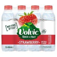 Volvic Strawberry 500ml x 12