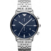 Emporio Armani Men's Watch Chronograph AR1648 New With Tags