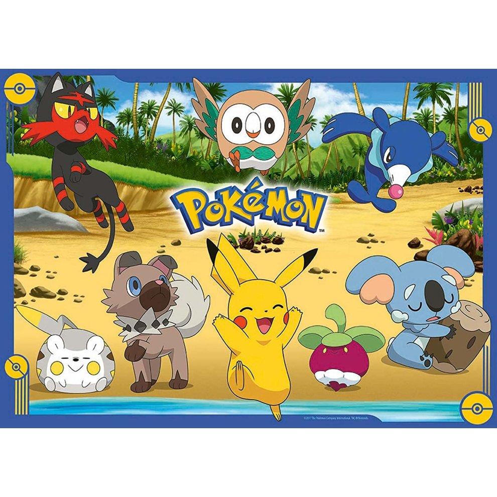 100 piece jigsaw puzzle Pokemon XY & Z