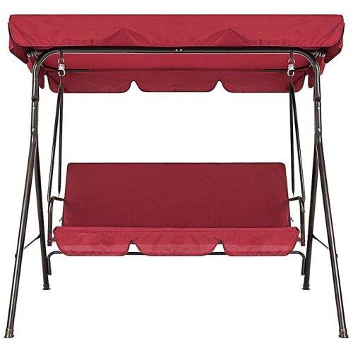 Universal Terrace Swing Garden Chair  (Red)