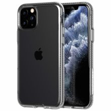 Tech21 Protective Apple iPhone 11 Pro Ultra Thin Back Cover with BulletShield Protection - Pure Clear - Transparent