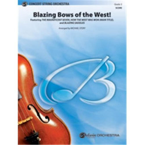 Alfred 00-38448 BLAZING BOWS OF THE WEST-PCS