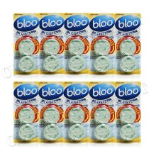 10 x 2 BLOO LOO CITRUS ZEST CLEAR WATER CISTERN TOILET BLOCKS