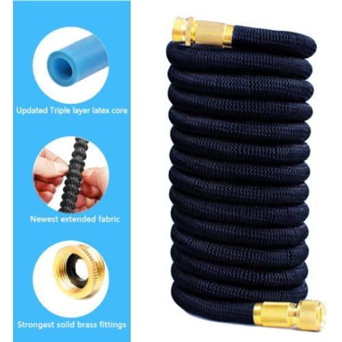 (50ft) UK Stock! Expandable Garden Hose With Core Late