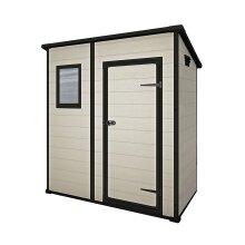 Keter Manor Pent Garden Storage Shed 6 x 4ft ? Beige/Brown