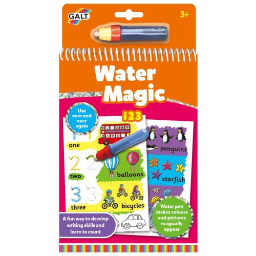 Galt Toys Water Magic 123, Colouring Book for Children