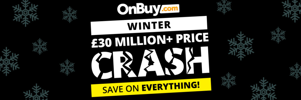 Winter Price Crash sale