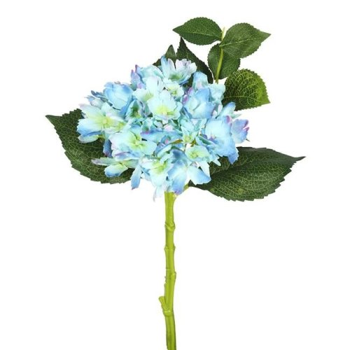 Vickerman FA173703 Short Hydrangea X2 Floral Stem, Blue - Pack of 3