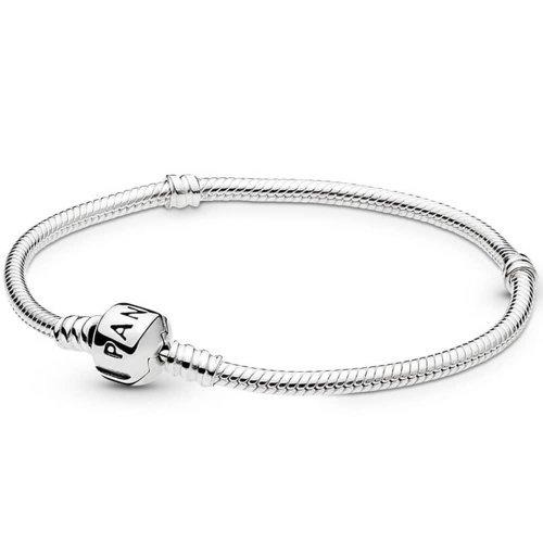 Pandora Moments Snake Chain Charm Bracelet 18cm - 590702HV