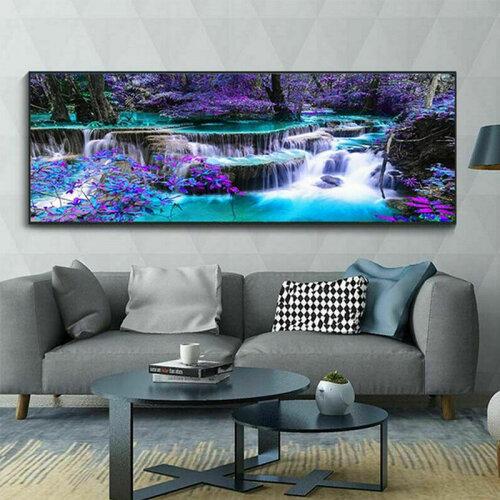 DIY 5D Diamond Landscape Painting Large Wall Art Craft Home Wall Decor