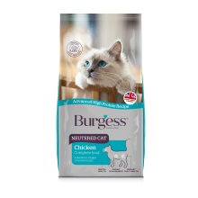 Burgess Neutered Cat Complete 1.5kg (Pack of 4)