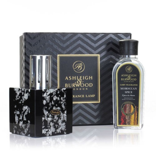 Ashleigh & Burwood Fragrance Midnight Collection Catalytic Lamps Silver