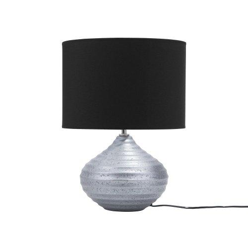 Table Lamp Ceramic Silver KUBAN